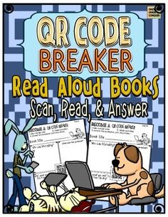 QR Code Breakers is a series of worksheets that have built-in QR Codes on every page. Students will scan the codes then answer the questions on the worksheet to correlate with what is one the QR Codes. | by Digital Divide and Conquer