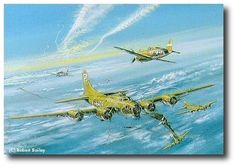 On March 6, 1944, over the town of Haseleunne, the Bloody Hundredth was virtually decimated. 'Our Gal Sal,' piloted by Bob Shoens, was the only B-17 to return to Thorpe Abbotts in England.