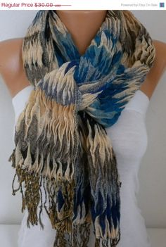 Unisex Scarf Mother's Day Gift Winter Cowl Scarf Men by fatwoman