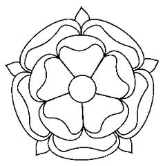 Potential rose design for my maybe future tattoo - Tudor Rose