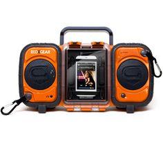 waterproof stereo! River trip?