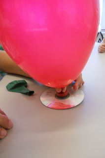 Build your own Hovercraft! Students love this and it is incredibly easy to do!