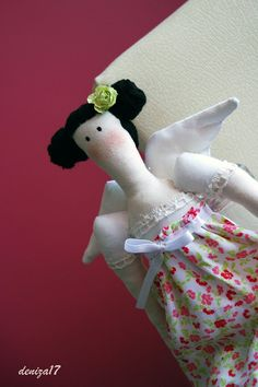 Country beauty angel doll