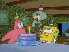 Happy Birthday GIF by SpongeBob SquarePants - Find & Share on GIPHY