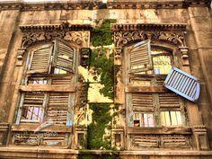 Old Windows in Old Aleppo
