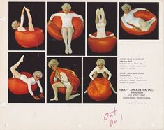 A bean bag chair advertisement. Bean Bag Design, Mid Century Modern Furniture, Vintage Posters, Flower Power, Rock And Roll, Bean Bag Chair, 1960s, The Past, Retro