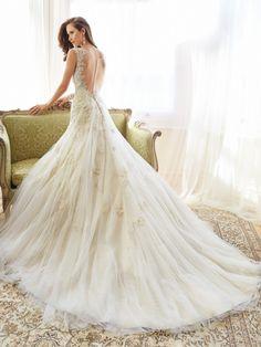http://www.modwedding.com/2014/10/26/glamorous-sophia-tolli-wedding-dresses-2015-collection/ #wedding #weddings #wedding_dress