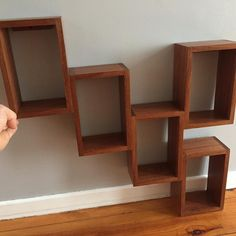 New vidéo! Unstructured shelves un exotic Wood. #wood #woodworking #shelf #shelves #exoticwood #bois #etagere #atelierpassiondubois