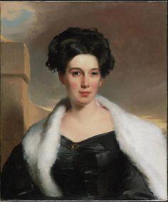 Thomas Sully, Mary Ann Heide Norris, 1830 (Philadelphia Museum of Art)