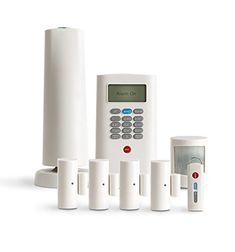 SimpliSafe Defend Wireless Home Security System White