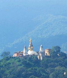 Syambhunath, Temple situated at the western hill of Kathmandu