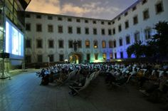 During the month of August the evenings of open air cinema return to the CCCB with 'Gandules', one of the pioneer festivals in this format. The programme consists of a series of films that are screened in the deckchair-strewn patio of the CCCB. These films are usually preceded by nine short stories, which deal with a variety of current themes from an ironic perspective. #summer #cinema #openair #CCCB #gandules #august #festival #barcelona #film #movie Outdoor Cinema, Take A Seat, Films, Movies, Movie Theater, Short Stories, Barcelona, Street View, Around The Worlds