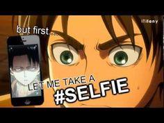 LEVI #SELFIE - shingeki no kyojin / attack on titan