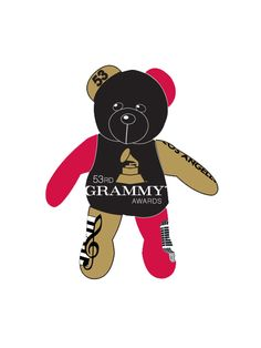 53rd Grammys - Thematic Bear