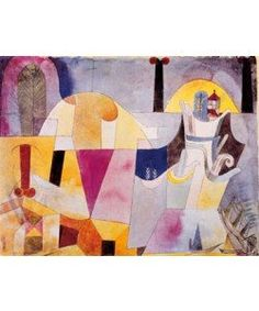 Paul Klee, Landscape with black columns