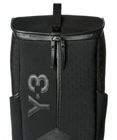 9b673f869e37 ADIDAS Y3 Y-3 BLACK DAY NEOPRENE BACKPACK  adidas  Backpack Adidas Backpack