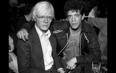 Warhol and Lou Reed