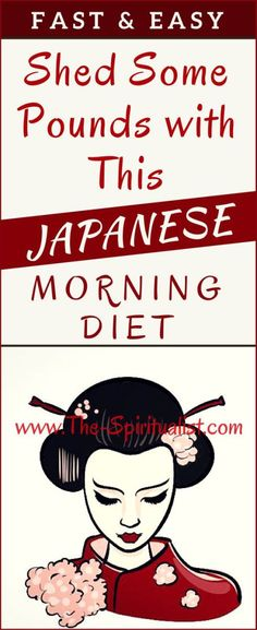That's right – this Japanese morning diet will boost your metabolism and help you lose weight much faster! Sounds amazing, right?! Well yes and it's very simple! You just have to take a look at the…