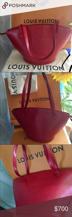 OFFERS ACCEPTED Louis Vuitton St Jacques This baby is clean inside and out!  Not a mark on her.  Comes with just bag. I have my eye on another bag so I am letting her go. TRADE VALUE is $1000. trades accepted for LV to LV only. Louis Vuitton Bags Shoulder Bags