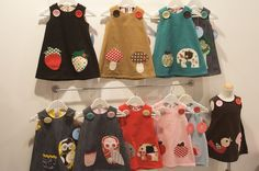 reminds me of cute jumpers I made for my daughter in the 80's :)