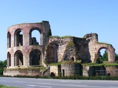 Roman ruins, Trier, Germany  My favorite city, so much history and culture