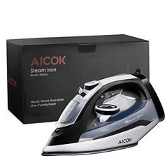 Larger Capacity: This clothes iron has larger water tank than others for providing full steam better and enhancing the working time; Steam Iron Reviews, Best Steam Iron, Best Appliances, How To Iron Clothes, Iron Work, Variables, Car Cleaning, Water Tank, Cool Outfits
