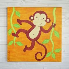 Jungle board idea. Leo, zebra, monkey, etc.