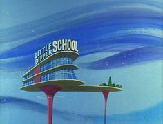 Hanna-Barbera, The Architecture of the Jetsons, c. 1962-3