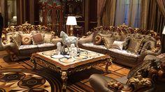 Brunello Italian Furniture - Italian Living Room Furniture Sets