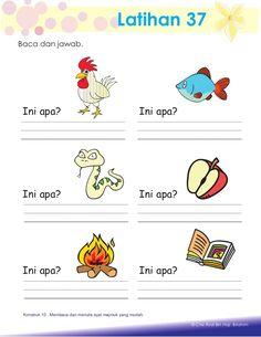 English Worksheets For Kindergarten, Kindergarten Reading Activities, Kindergarten Writing, Preschool Learning, Reading Worksheets, Learning Letters, Preschool Activities, Math For Kids, Printable Alphabet Worksheets