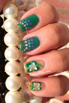 Its the luck of the Irish! St Patty's Manicure