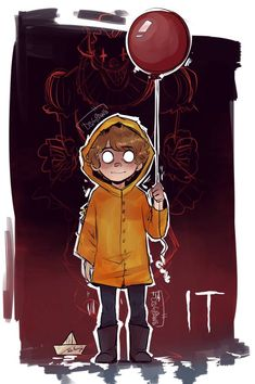 IT- Georgie by on DeviantArt Es Pennywise, Pennywise The Dancing Clown, Horror Movie Characters, Horror Movies, Arte Horror, Horror Art, Frases Bff, Scary Art, Creepy