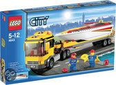 LEGO City Powerboot Transporter 4643