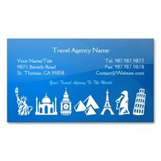 234 Best Travel Business Cards Images Business Card Design