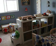 Creating a Montessori/Waldorf inspired space