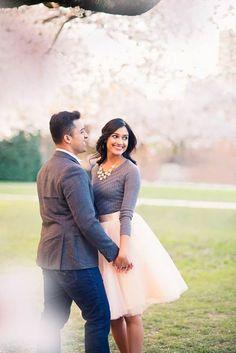 Cherry Tree Blossom Engagement_Seattle Wedding Photographer_Kelsey Lane…