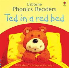 "One of the original books in the Usborne Phonics Readers Series,""Ted in a Red Bed,"" is still available as a separate title as well as included in ""Ted and Friends,"" the combined volume of the first twelve phonics books published and illustrated by Stephen Cartwright."