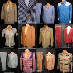 Mens Wear - Remember the Leisure Suit?  How about some of these other fashion disasters?