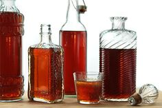 Homemade Amaretto -- this takes 4 weeks so start now so you'll have it in time to give as gifts!