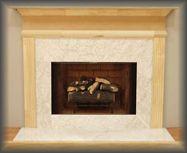 The Azalea Economy Fireplace Mantel
