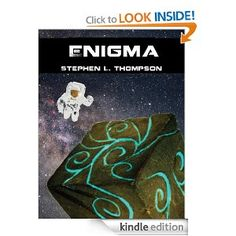 """Enigma"" is set in a larger universe, and consists of two parts. Part I follows Carlos Molina, a maintenance man at a comet mining facility. He is sent out to fix a problem with one of the automated miners. In the process, he discovers a cube embedded in the comet's nucleus."