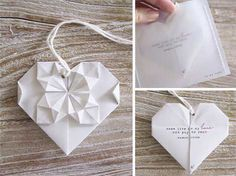 origami wedding invitation ideas