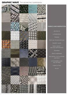 Milano Unica textil fabrics and accessories F-W 2016-17 GRAPHIC WAVE By Paola Castillo