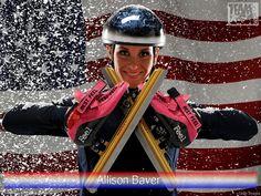 Allison Baver - American short track speed skater