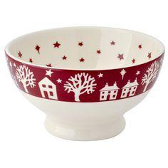 Emma Bridgewater Christmas Town French Bowl
