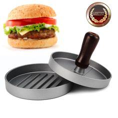 Allezola Burger Press, Hamburger Patty Maker, Non Stick Patty Mold, Hamburger Patty Maker Hamburger Grill BBQ Patty - Ideal for BBQ #kitchen #gadgets @bestbuy9432