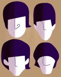 The Beatles - Francisco Javier Olea Pop Rock, Rock And Roll, Beatles Party, Beatles Cake, Arte Do Harry Potter, Les Beatles, Music Artwork, Rock Art, Graphic Art