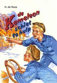 De Kameleon schiet te hulp (nr. 20 - 1965)  Geschreven door Hotze de Roos  Illustraties: Gerard van Straaten