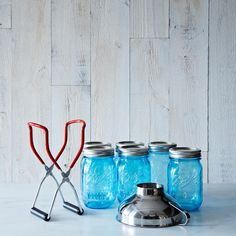Ball American Heritage Jars (Set of 6) with Canning Lifter & Funnel on Provisions by Food52