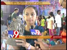 Eco Friendly Ganesh Idol making workshop for children by Tree God foundation